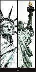 Affiche de La Statue de la Liberté - New-York - USA
