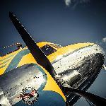 Impression sur toile Chevalier du ciel - avion 1