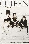 Affiche noir & blanc de Queen (brazil 81)