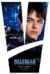 Affiche du film Valérian et la Cité des Mille Planètes