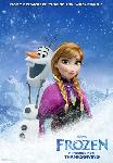 Affiche du film d'animation de la Reine des Neiges