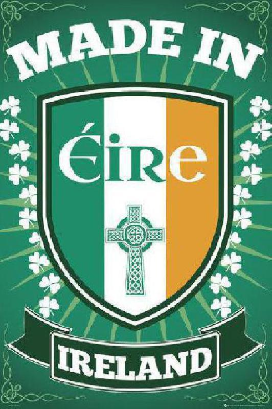 affiche de l 39 irlande acheter affiche de l 39 irlande 5263 affiches et. Black Bedroom Furniture Sets. Home Design Ideas