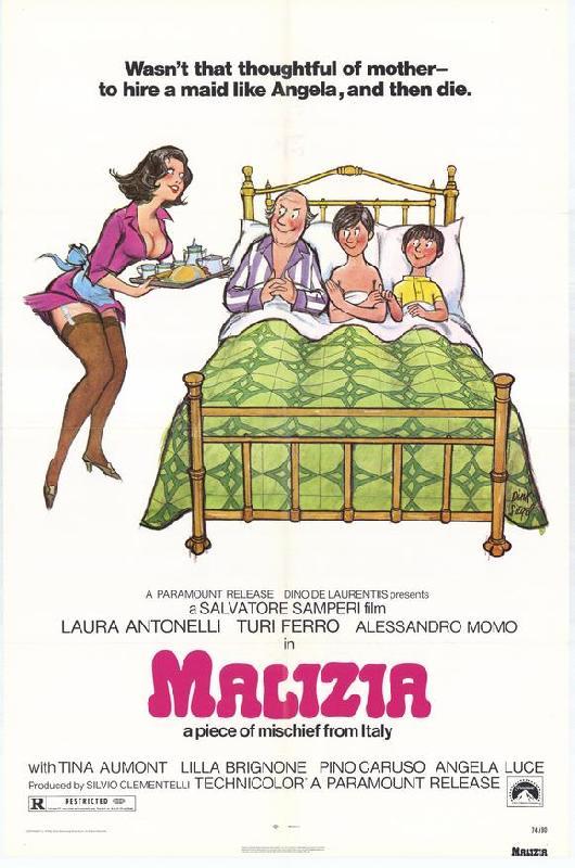 affiche du film malicia acheter affiche du film malicia 5272 affiches et. Black Bedroom Furniture Sets. Home Design Ideas