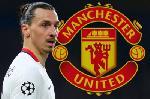 Affiche du joueur de Football Zlatan Ibrahimovic Manchester United