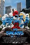Affiche du film animé Les Schtroumpfs