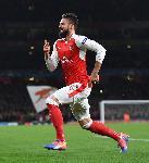Affiche du FC Arsenal Olivier Giroud