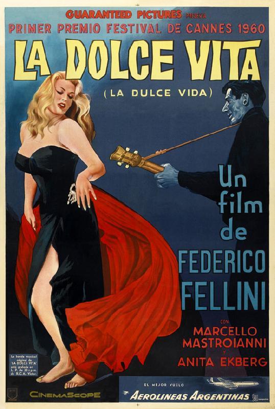 affiche du film la dolce vita acheter affiche du film la dolce vita 5321 affiches et. Black Bedroom Furniture Sets. Home Design Ideas