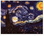 Affiche de Van Gogh La Nuit étoilée