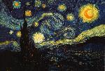 Affiche de Van Gogh La Nuit Etoilée