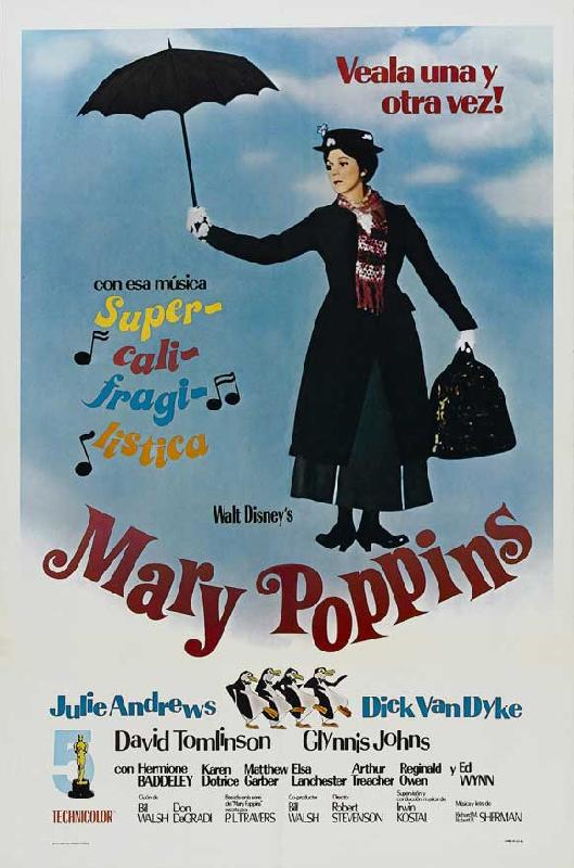 poster du film mary poppins acheter poster du film mary poppins 5379 affiches et. Black Bedroom Furniture Sets. Home Design Ideas