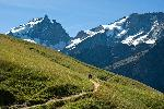 Photo montagne au printemps