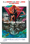 Toile imprimée film James Bond the spy who loved me