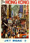 Affiche ancienne The Orient is Hong Kong