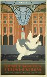 Affiche ancienne publicité London, Paris, Milano, Venezia - Venice Simplon, Orient Express