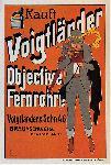Affiche publicité vintage Voigtlander Camera