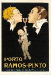 Affiche publicité vintage Porto Ramos Pinto by Rene Vincent