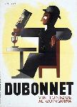 Affiche publicité vintage Dubonnet by A.M. Cassandre