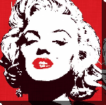 Impression sur toile de Marilyn Monroe Pop Art