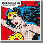 Impression sur toile de Wonder Woman