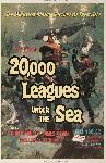 Poster du film vingt mille lieues sous les mers