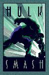 Poster de Marvel Déco Hulk
