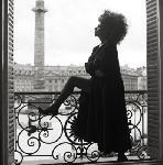 Photo noir et blanc de l'actrice Sophia Loren