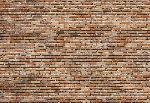 Tapisserie photo Une brique sur l'autre (8 panneaux à coller)