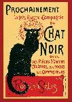 Affiche Tournée du Chat Noir