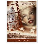 Affiche ancienne du Festival de Cannes