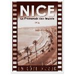 Affiche vintage Nice Promenade des Anglais 1935