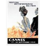 Affiche vintage Festival de Cannes 1939