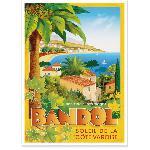 Affiche vintage de Bandol