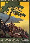 Affiche vintage Le Cap Corse