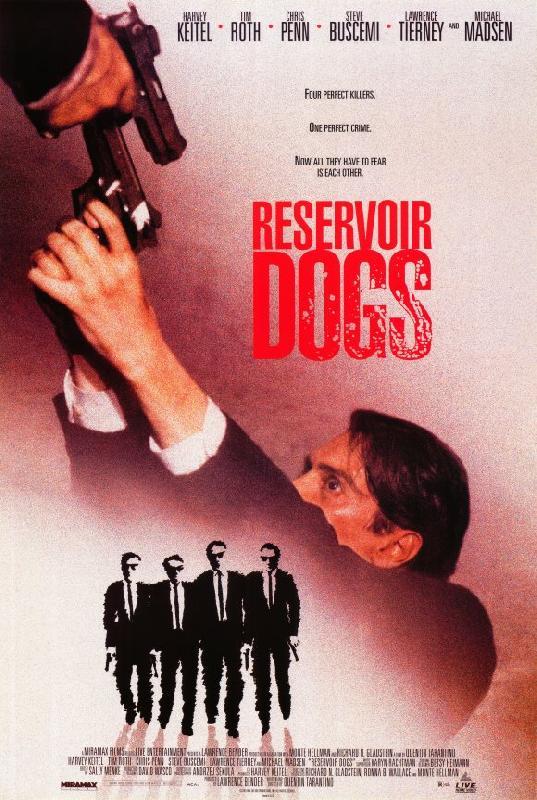 affiche du film reservoir dogs acheter affiche du film reservoir dogs 5608 affiches et. Black Bedroom Furniture Sets. Home Design Ideas