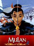Affiche du dessin animé Disney Mulan