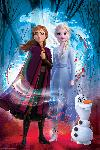 Affiche du film d'animation la Reine des Neiges 2