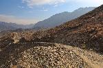Photo chemin de montagne en Afghanistan