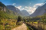 Photo paysage d'Albanie montagne