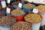 Photo marché d'olive en albanie