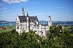 Photo du chateau de Neuschwanstein en Bavière en Allemagne