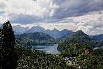 Photo lac de montagne alpes en Allemagne