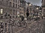 Photo velo dans la ville de Fribourg en Allemagne