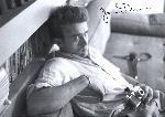 Affiche noir & blanc de James Dean