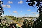 Photo arc en ciel sur les chutes d'Iguazu en Argentine