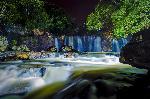 Photo cascade rivière en Argentine