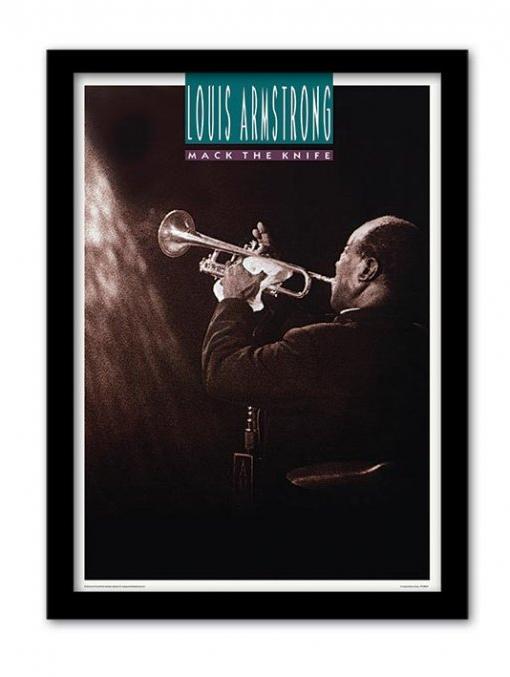 Affiche Encadr E De Louis Armstrong Acheter Affiche Encadr E De Louis Armstrong 5643