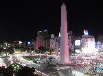 Photo nuit à Buenos Aire en Argentine