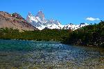 Photo lac de montagne en Patagonie en Argentine