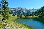 Photo lac de montagne dans les Alpes Autriche