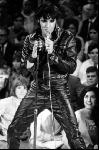 Affiche noir & blanc d'Elvis Presley 68 Comeback Special